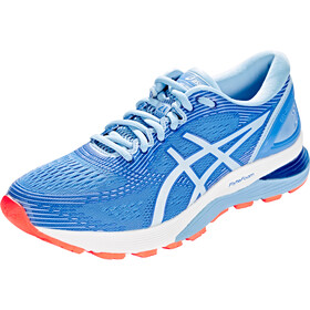 asics Gel-Nimbus 21 Schoenen Dames, blue coast/skylight